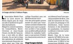 L'eau potable priorité pour Materi au Bénin
